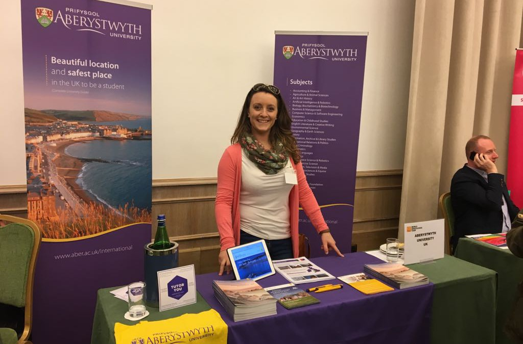 TutorYou teams up with Aberystwyth University at the QS Education Fairs