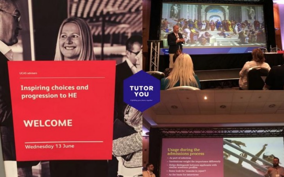 TutorYou at the UCAS Inspiring Choices and Progression to HE Conference!