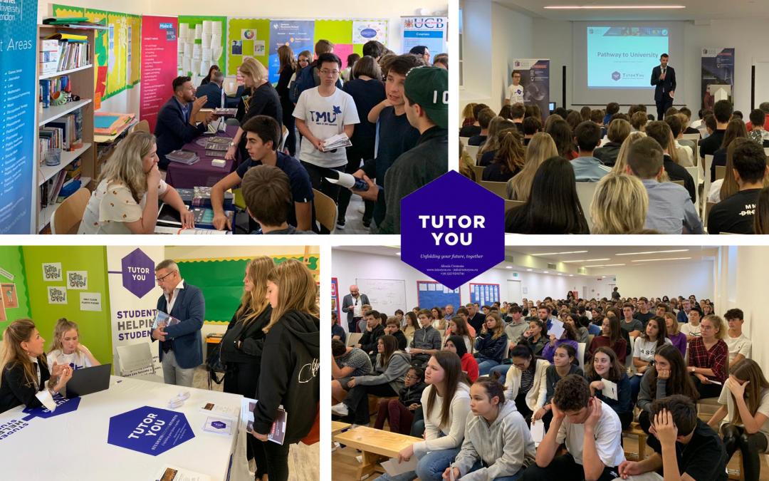TutorYou Organised University Fair at the International School of Monza!