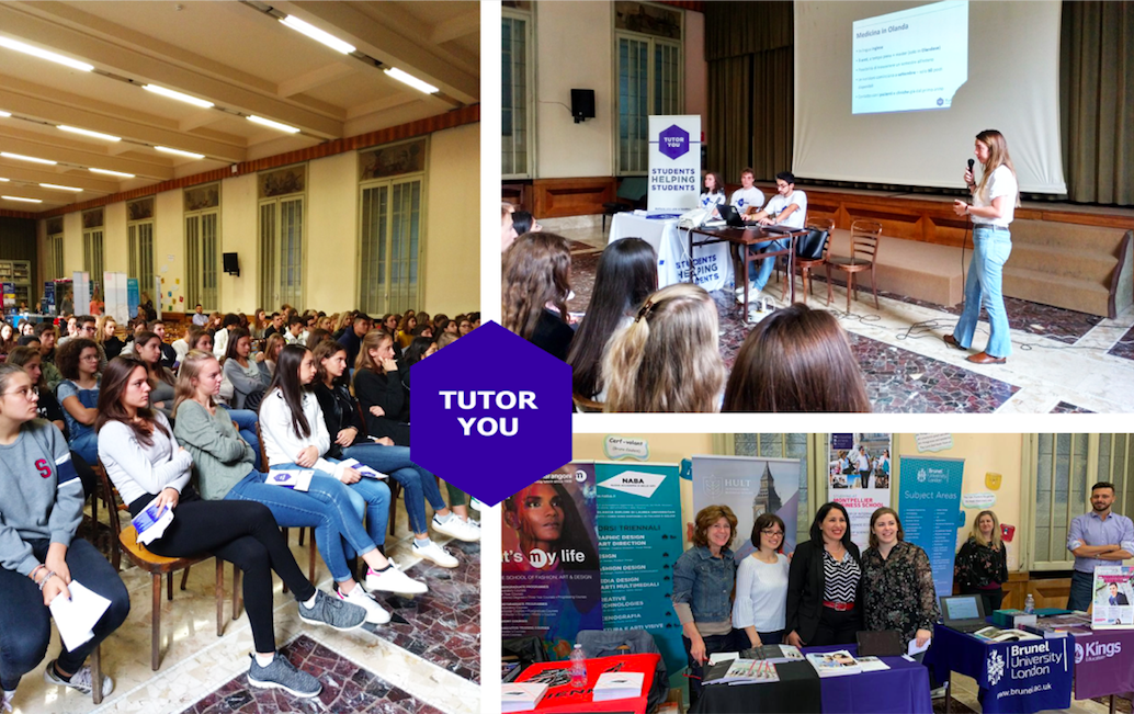 TutorYou University Fair at Istituto Marcelline Tommaseo