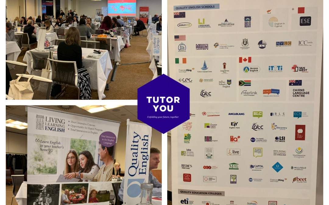 TutorYou at Quality English and Quality Education Agent Workshop