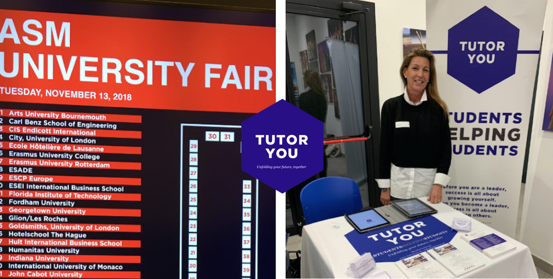 TutorYou at the American School of Milan University Fair