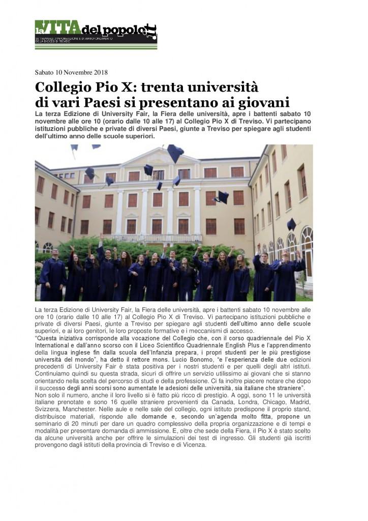 UNI FAIR 2018_La Vita del Popolo online 10 11 2018-001