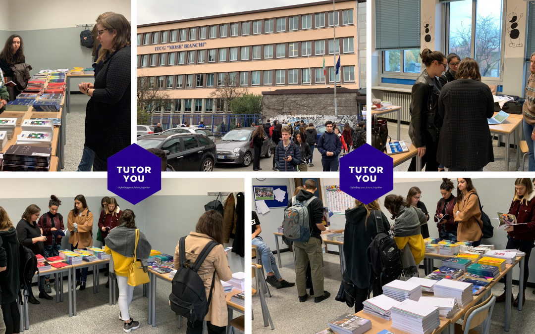 TutorYou at the Istituto Mose Bianchi University Orientation Fair in Monza
