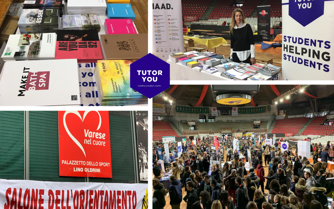 TutorYou at the Salone Orientamento Universitario & Liceo Ernesto Cairoli in Varese