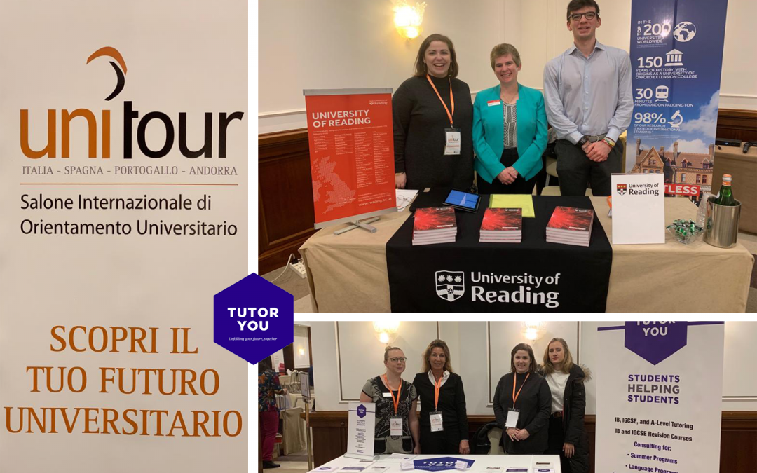 TutorYou at the UNITOUR International University Fair 2019 Turin