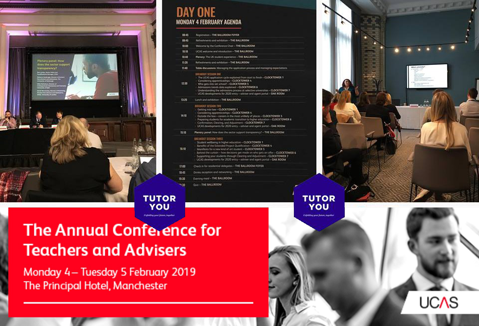 TutorYou at the UCAS Annual Teachers and Advisors Conference 2019
