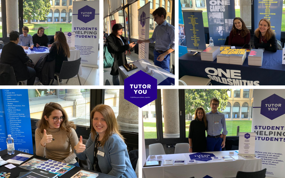 TutorYou at the British Council Study UK Fair Milano