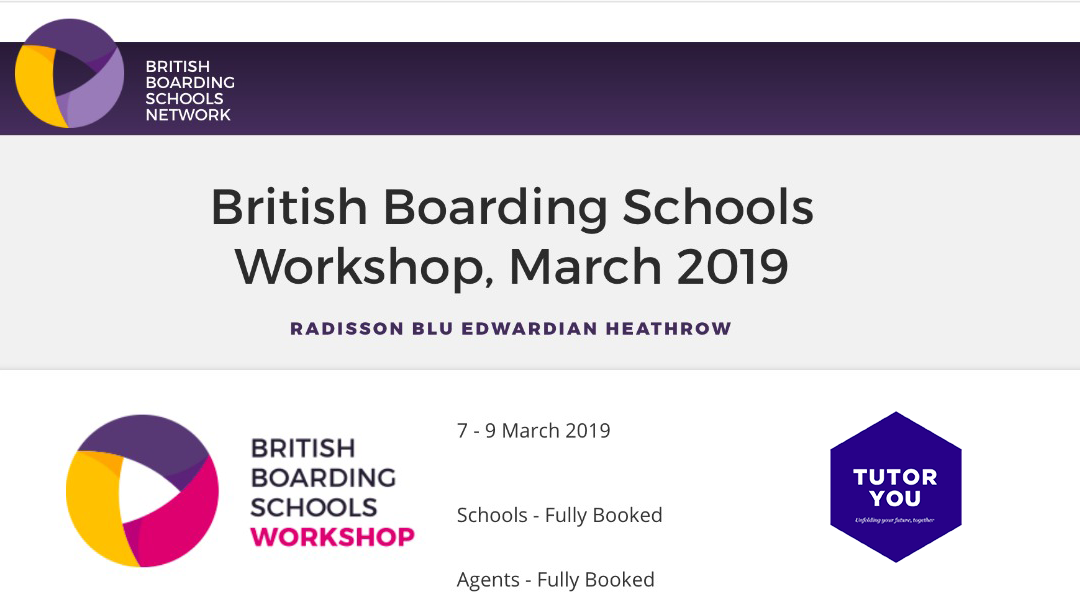 TutorYou at British Boarding Schools Workshop 2019