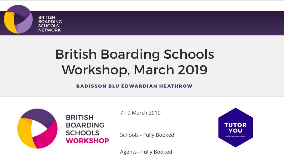 TutorYou at British Boarding Schools Workshop 2019