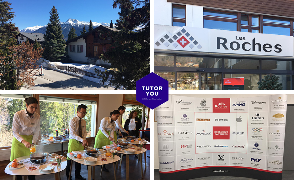 TutorYou visits Les Roches and Glion Institute of Higher Education in Montreux, Switzerland