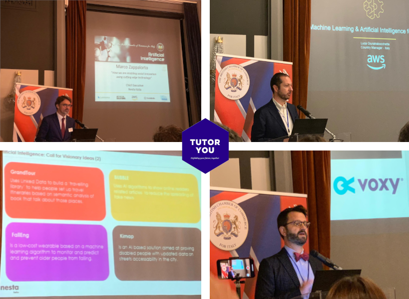 TutorYou at the British Chamber of Commerce Artificial Intelligence Seminar