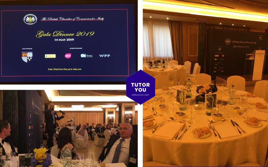 TutorYou attends the British Chamber of Commerce Gala Dinner 2019
