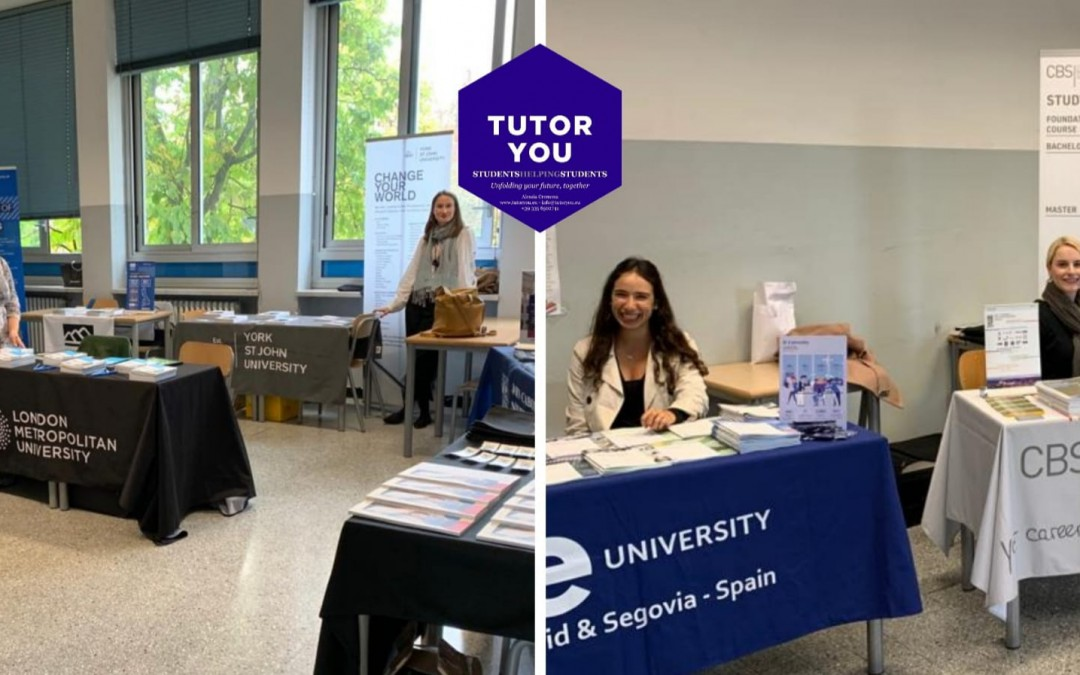 TutorYou at Istituto Mosè Bianchi University Fair