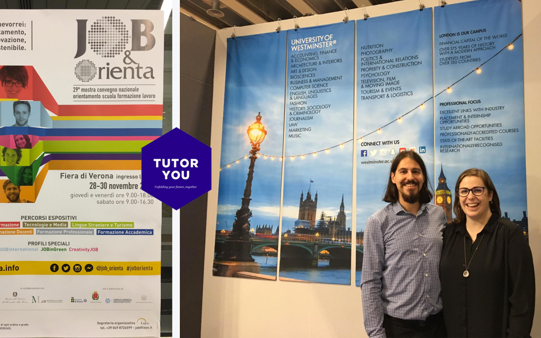 TutorYou at Job & Orienta Verona 2019