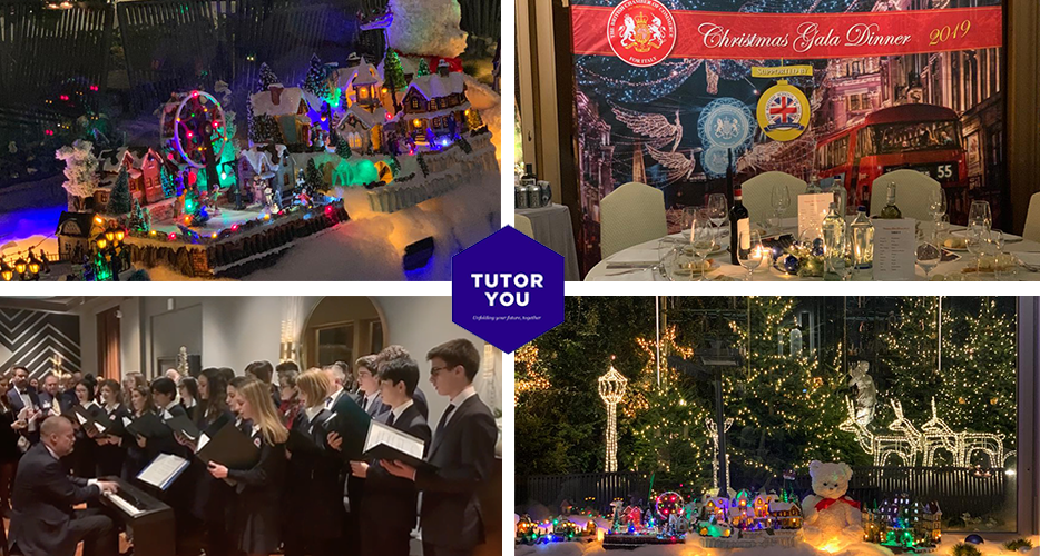 TutorYou at the British Chamber of Commerce for Italy Christmas Gala Dinner